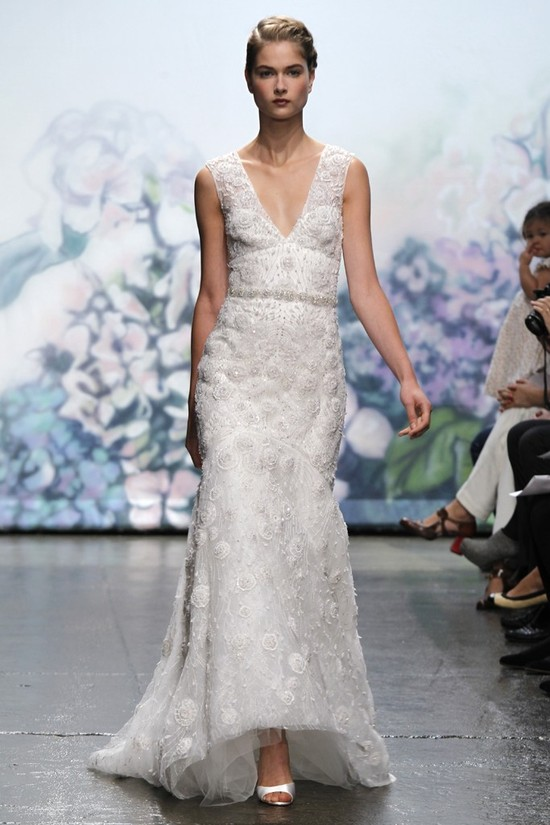 wedding dress monique lhullier bridal gowns fall 2012 aurora