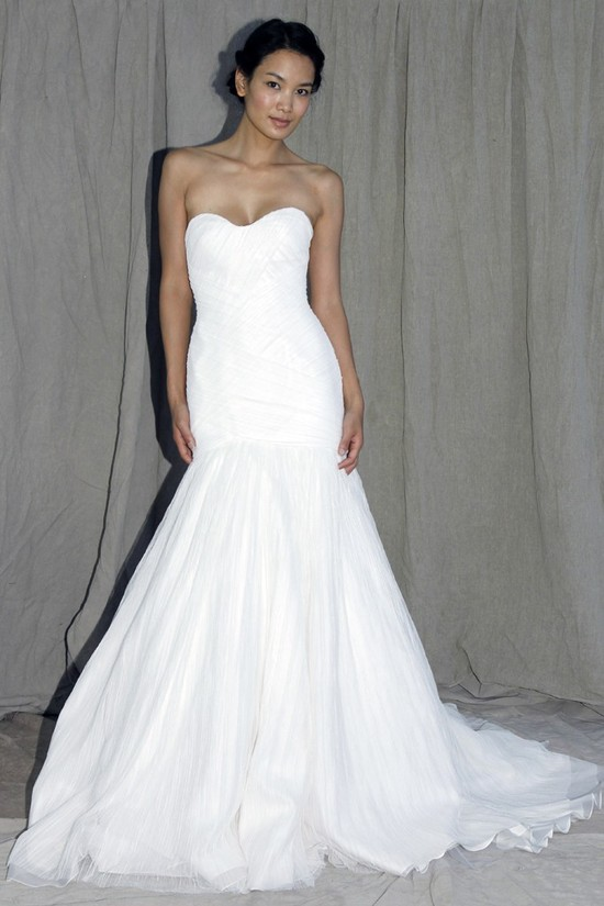 wedding dress lela rose bridal spring 2012 5