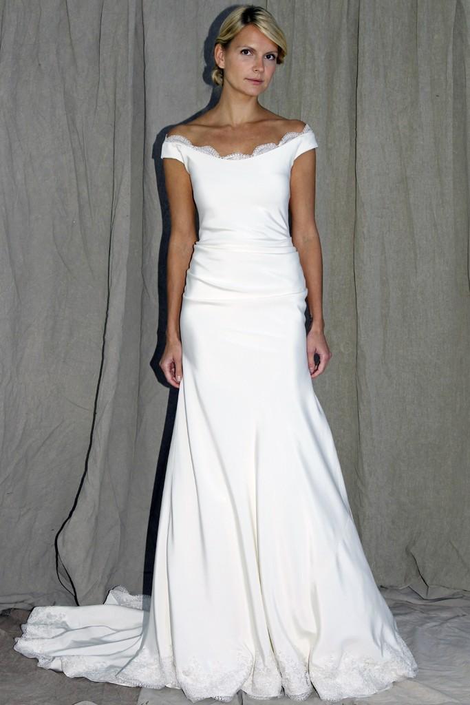 Wedding dress lela rose bridal spring 2012 4 for Wedding dresses with roses on them