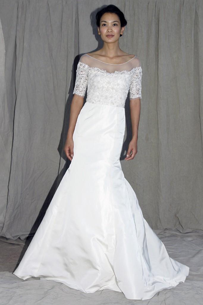 wedding dress lela rose bridal spring 2012 3