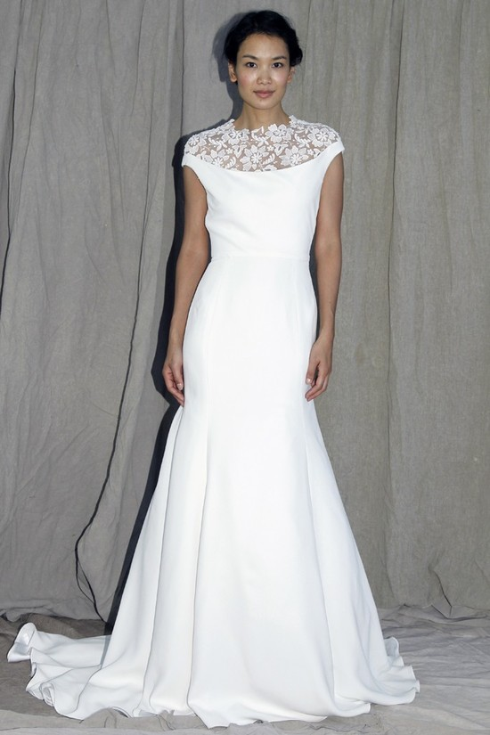 wedding dress lela rose bridal spring 2012 1