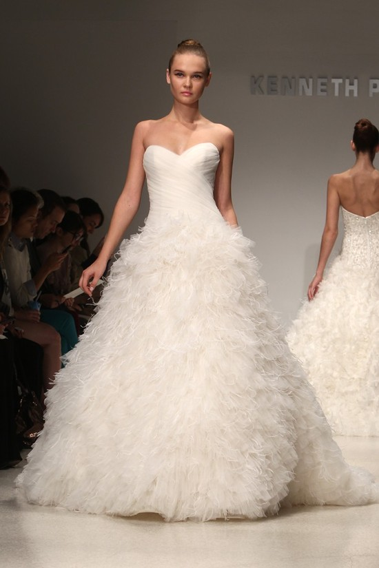 wedding dress kenneth pool bridal gowns fall 2012 11