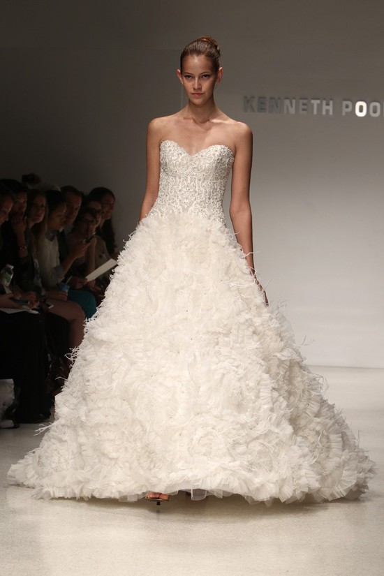 wedding dress kenneth pool bridal gowns fall 2012 10