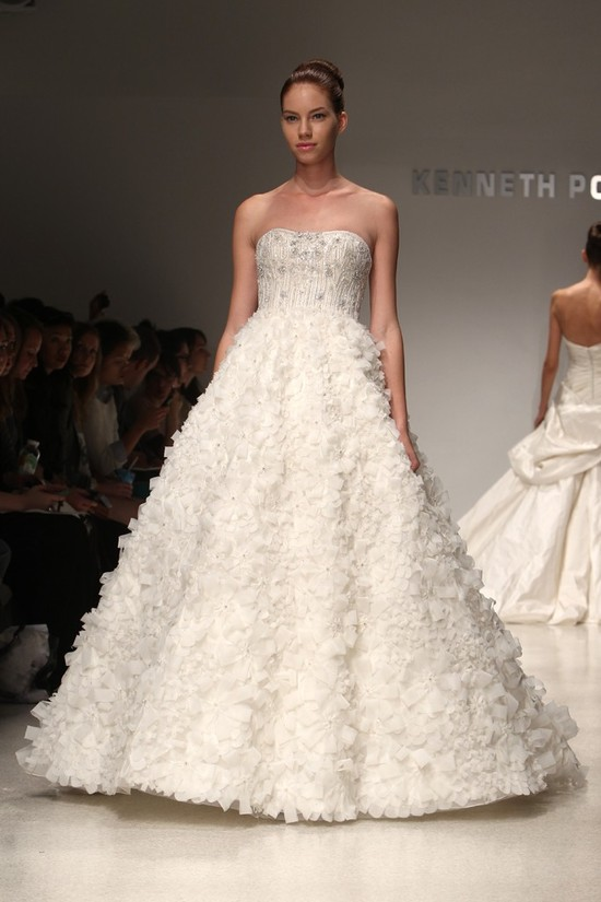 wedding dress kenneth pool bridal gowns fall 2012 07