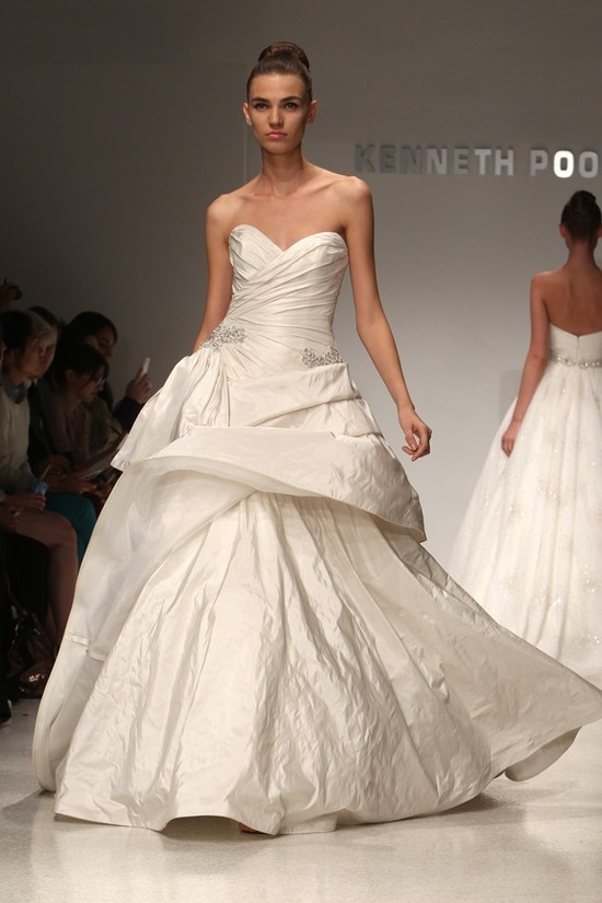 wedding dress kenneth pool bridal gowns fall 2012 06