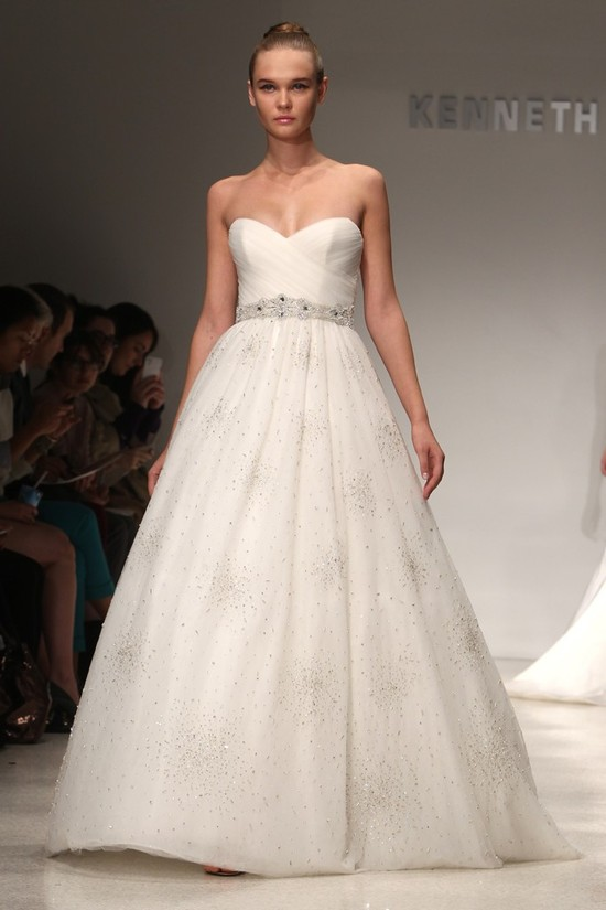wedding dress kenneth pool bridal gowns fall 2012 05