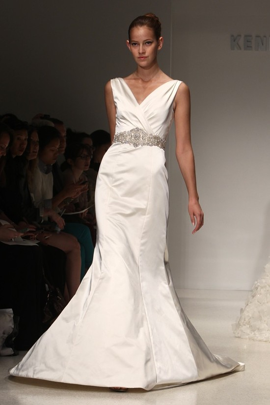 wedding dress kenneth pool bridal gowns fall 2012 04