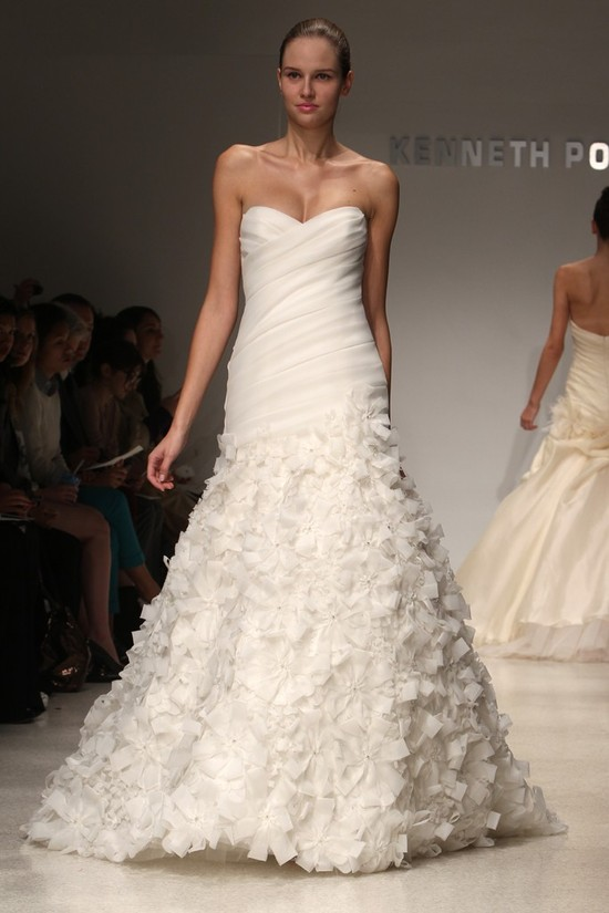 wedding dress kenneth pool bridal gowns fall 2012 03