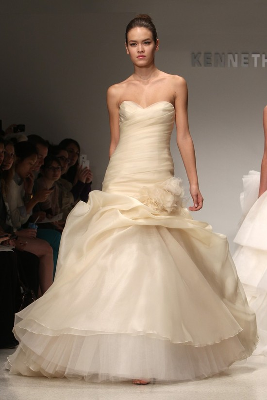 wedding dress kenneth pool bridal gowns fall 2012 02