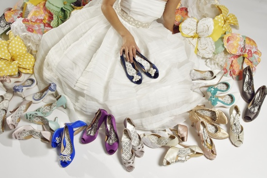 drool worthy wedding shoes for vintage brides