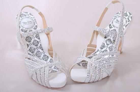 photo of Hey Pretty Lady! Like My Wedding Shoes?