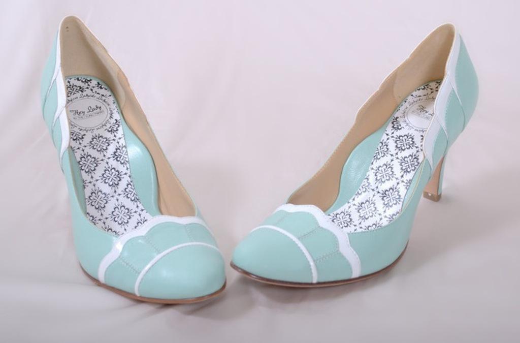 hey lady wedding shoes vintage inspired bridal heels black pearl ...