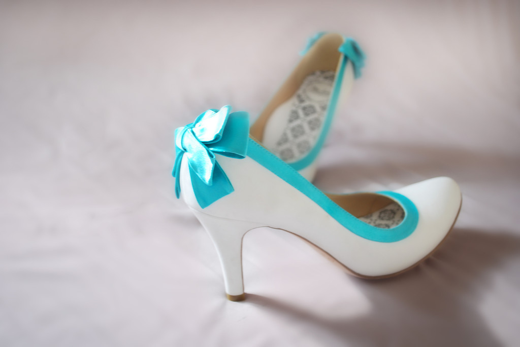 End Of Term Party! [Everyone Invited] Hey-lady-wedding-shoes-vintage-inspired-bridal-heels-white-with-teal.original
