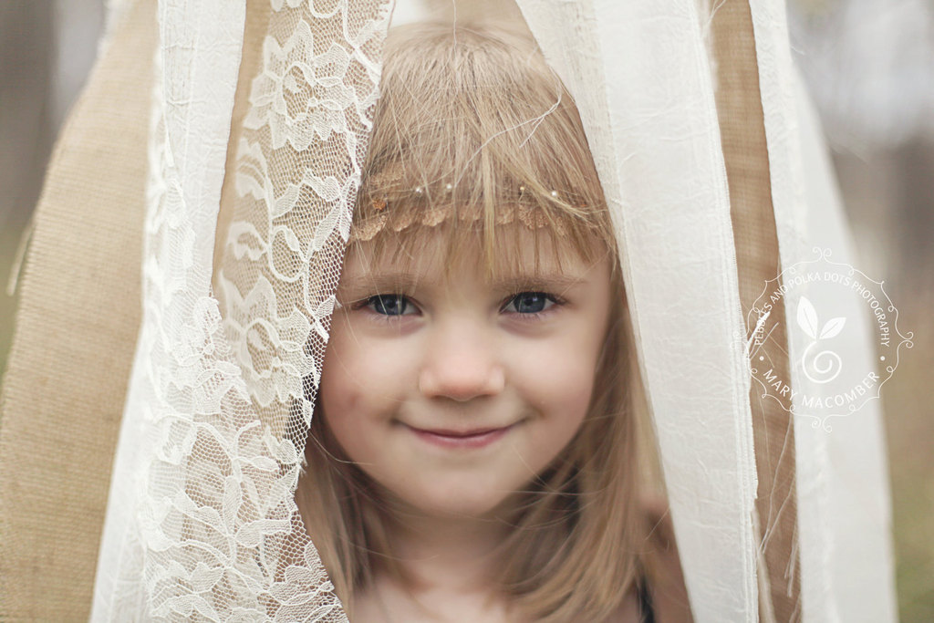 Lace-burlap-wedding-finds-outdoor-wedding-canopy-flower-girl.full