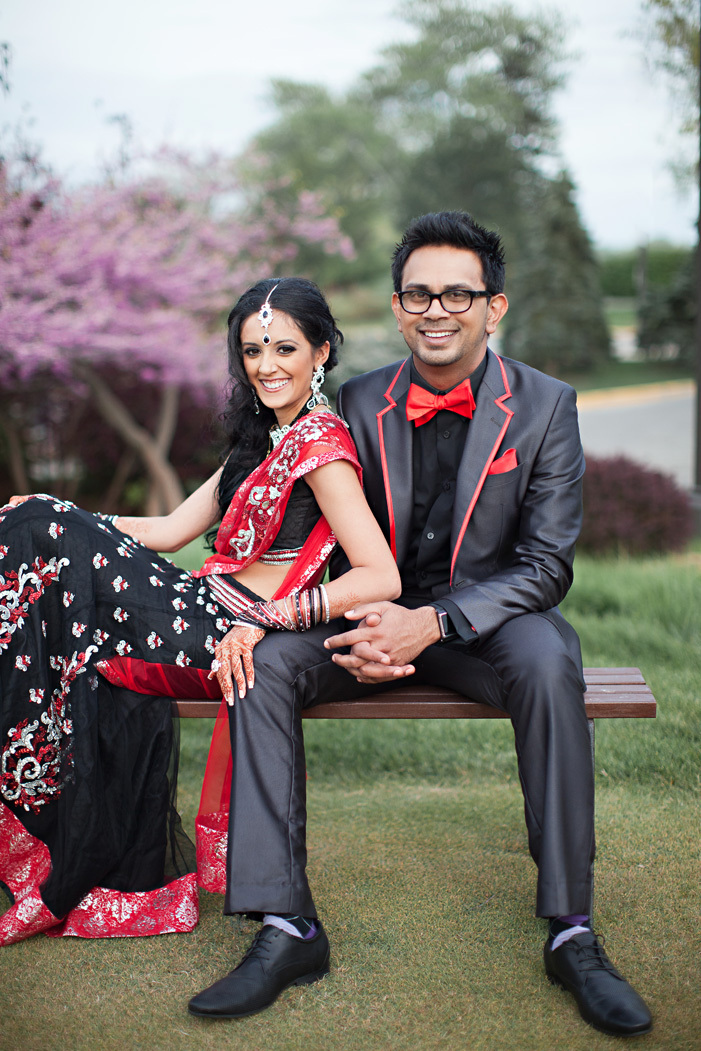 60cee5e999 cultural real wedding Indian weddings Chicago IL bride groom portrait
