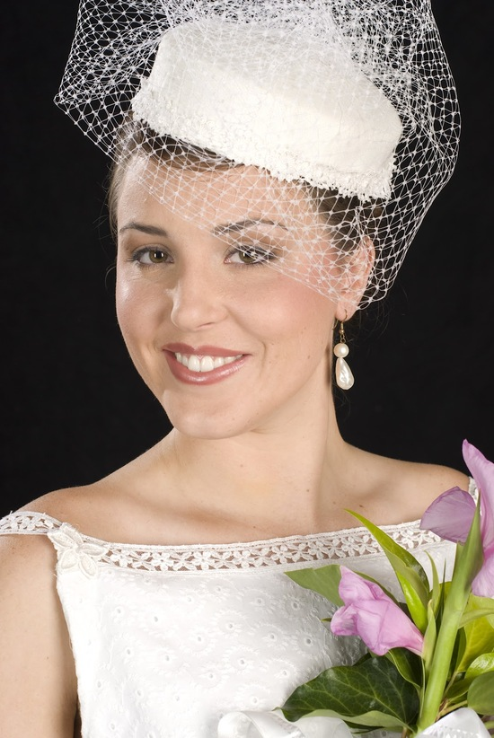 2012 2013 wedding trends bridal accessories wedding hats 1