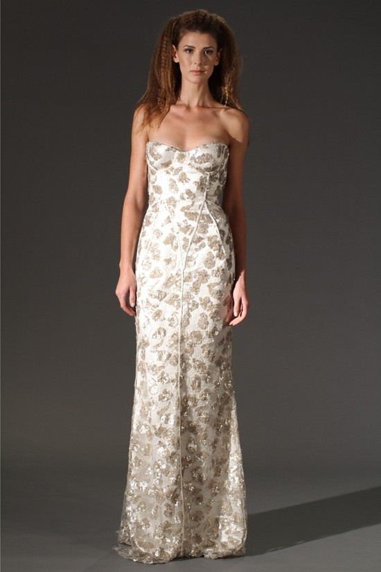 wedding dress fall 2012 douglas hannant bridal 12
