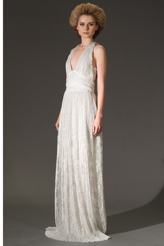 wedding dress fall 2012 douglas hannant bridal 1