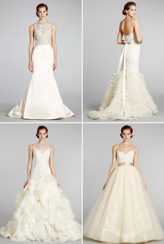wedding dresses fall 2012 Lazaro bridal gowns 3