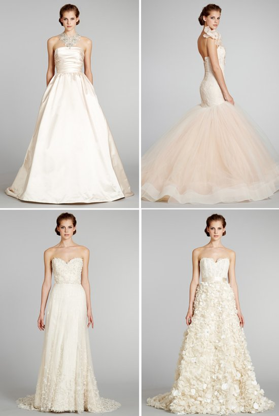 wedding dresses fall 2012 Lazaro bridal gowns 1