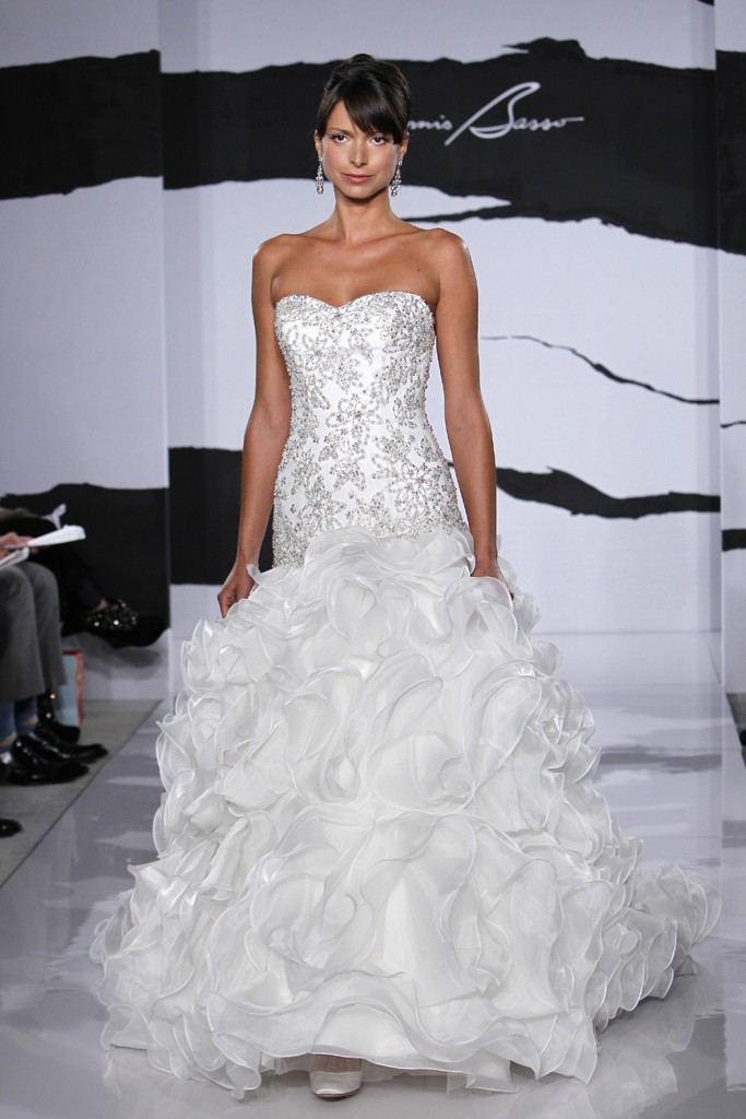 Wedding Dresses Kleinfeld Atlanta : Wedding dress fall dennis basso for kleinfeld bridal