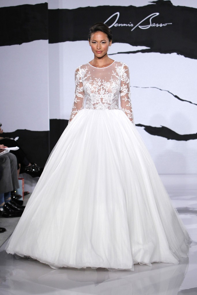 wedding dress fall 2012 dennis basso for kleinfeld bridal 24