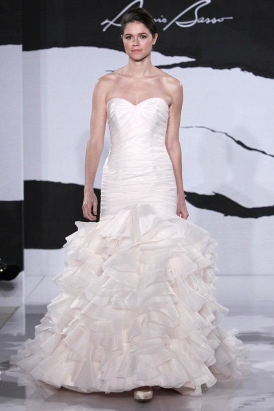 wedding dress fall 2012 dennis basso for kleinfeld bridal 22
