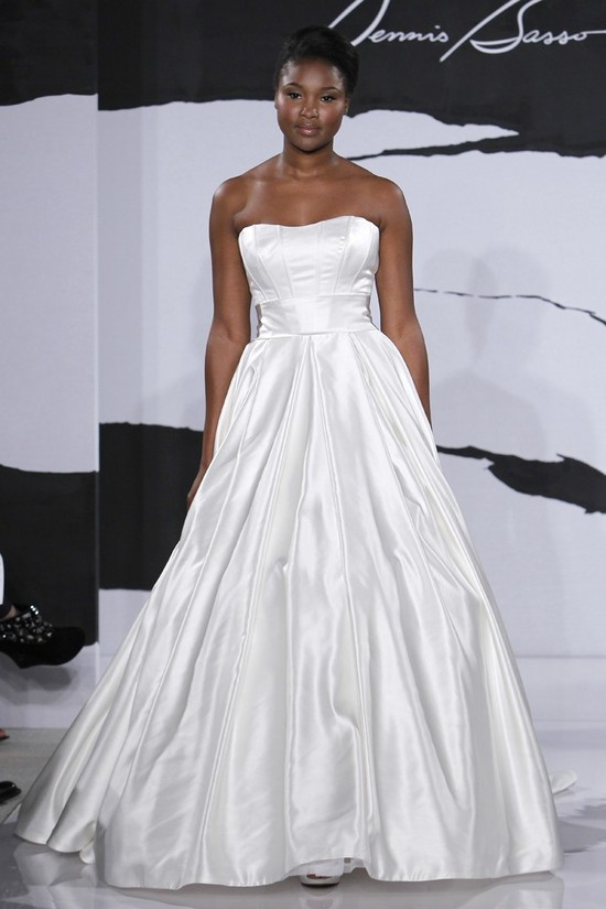 wedding dress fall 2012 dennis basso for kleinfeld bridal 21