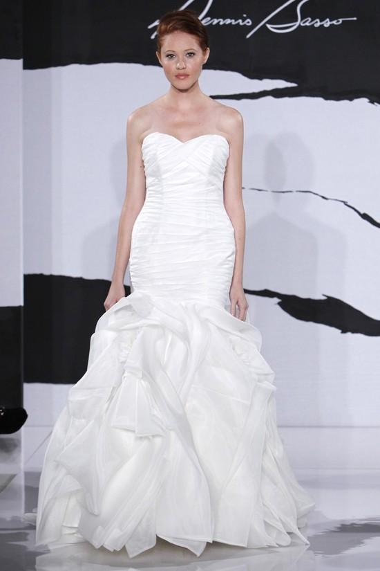 wedding dress fall 2012 dennis basso for kleinfeld bridal 20