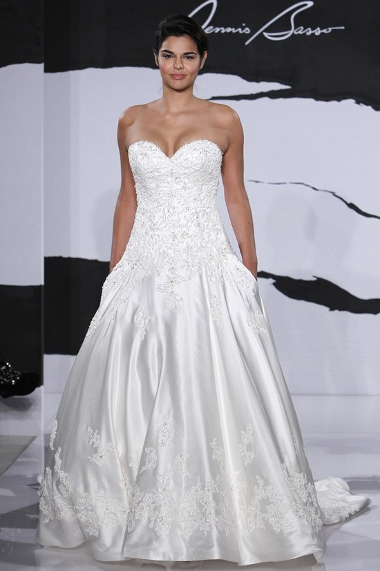 wedding dress fall 2012 dennis basso for kleinfeld bridal 17