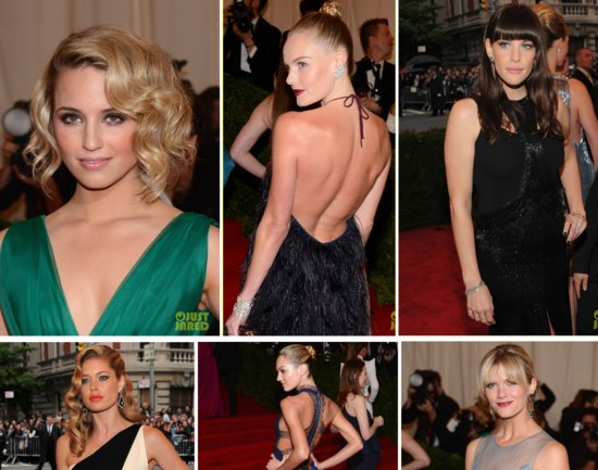 photo of bridal beauty 2012 Met Ball