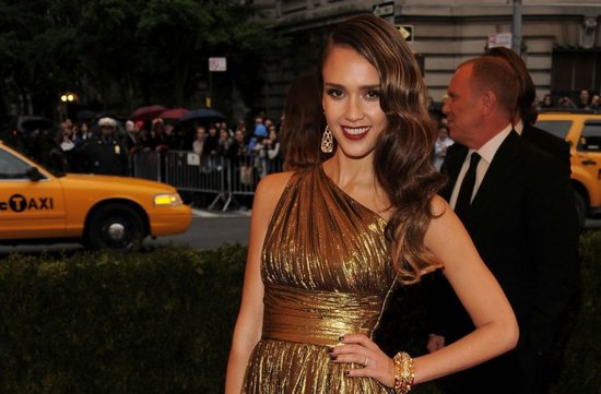 wedding hair makeup inspiration 2012 met ball jessica alba