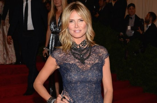 wedding hair makeup inspiration 2012 met ball heidi klum