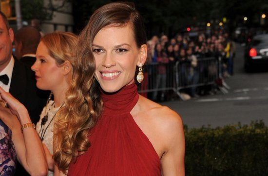 wedding hair makeup inspiration 2012 met ball hillary swank
