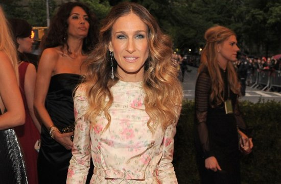 wedding hair makeup inspiration 2012 met ball SJP