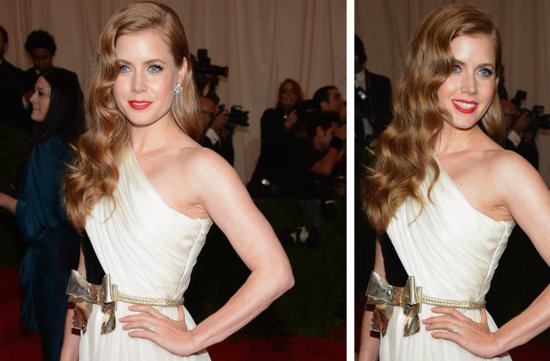 wedding hair makeup inspiration 2012 met ball amy adams