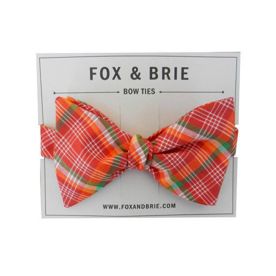 Grooms-style-wedding-fashion-bow-ties-plaid.full