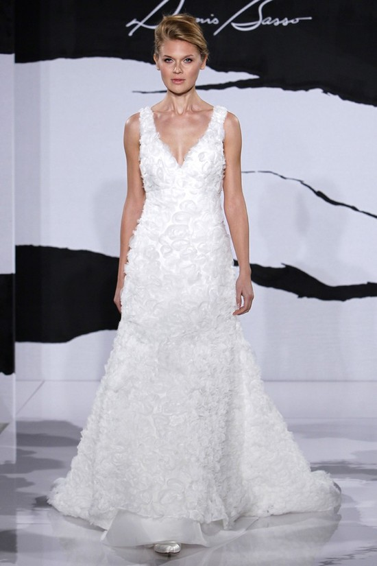 wedding dress fall 2012 dennis basso for kleinfeld bridal 15