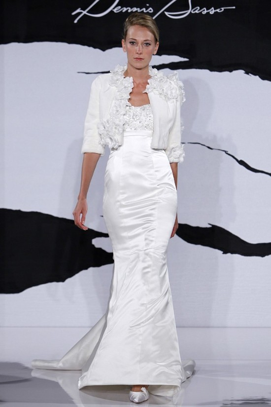 wedding dress fall 2012 dennis basso for kleinfeld bridal 14