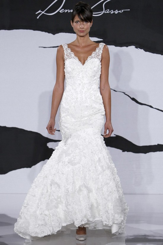 wedding dress fall 2012 dennis basso for kleinfeld bridal 13