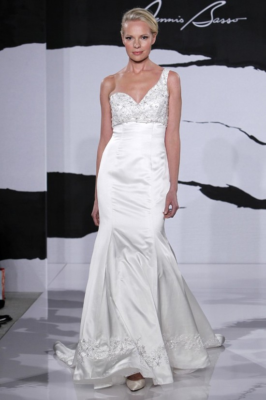 wedding dress fall 2012 dennis basso for kleinfeld bridal 11