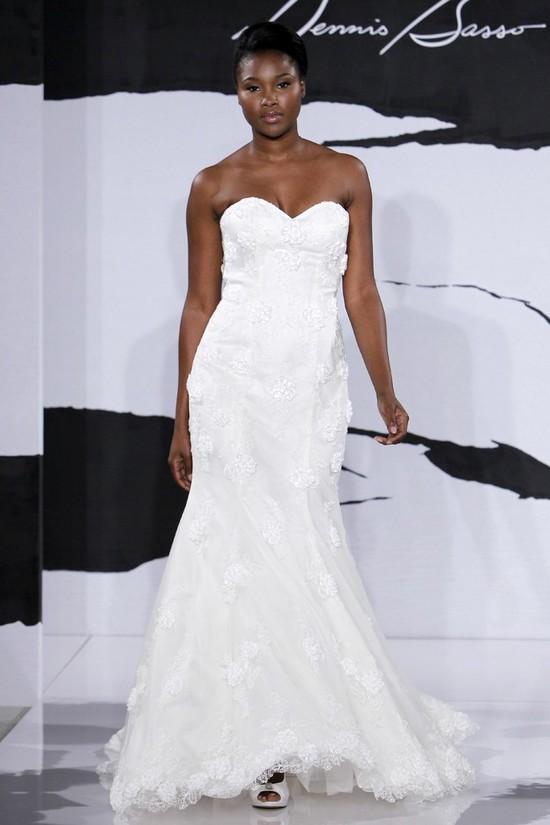 wedding dress fall 2012 dennis basso for kleinfeld bridal 10