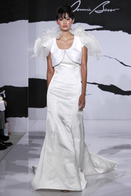 wedding dress fall 2012 dennis basso for kleinfeld bridal 9