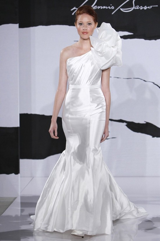wedding dress fall 2012 dennis basso for kleinfeld bridal 8