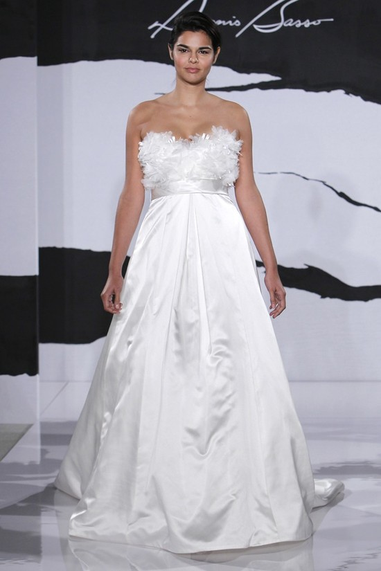 wedding dress fall 2012 dennis basso for kleinfeld bridal 6