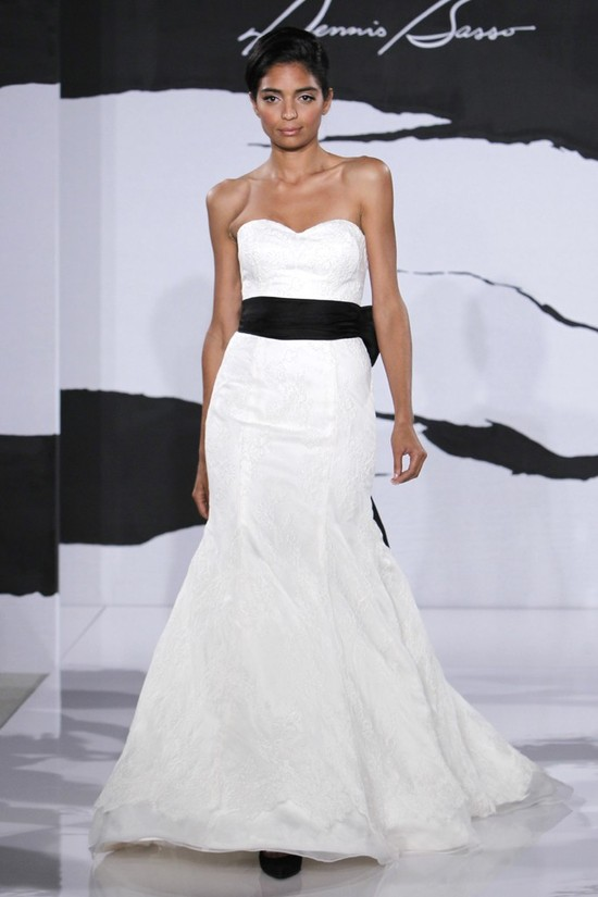 wedding dress fall 2012 dennis basso for kleinfeld bridal 5
