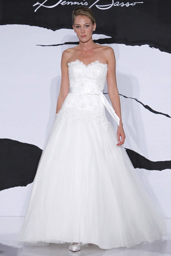 wedding dress fall 2012 dennis basso for kleinfeld bridal 4
