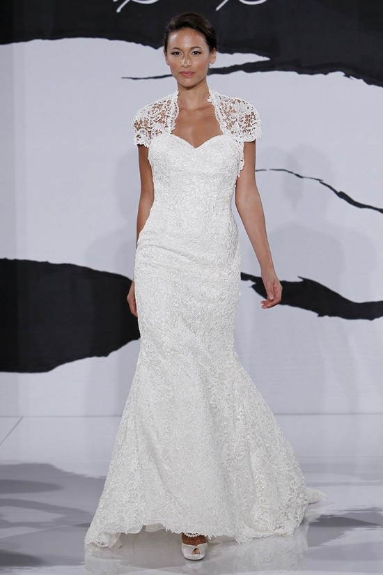 wedding dress fall 2012 dennis basso for kleinfeld bridal 3