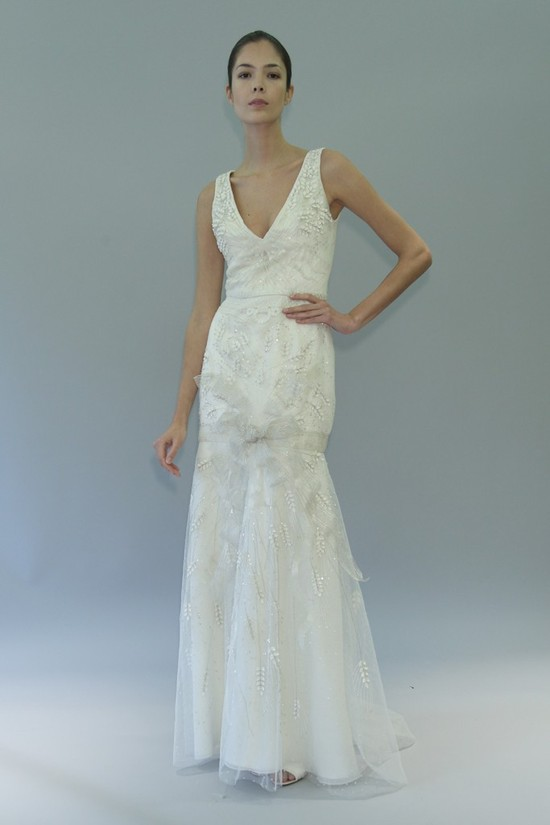 wedding dress fall 2012 bridal gowns carolina herrera heidi