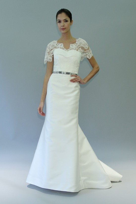 wedding dress fall 2012 bridal gowns carolina herrera heather